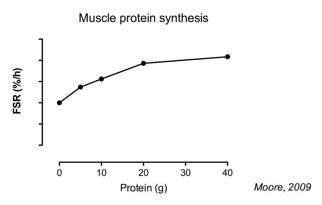 Protein dose response